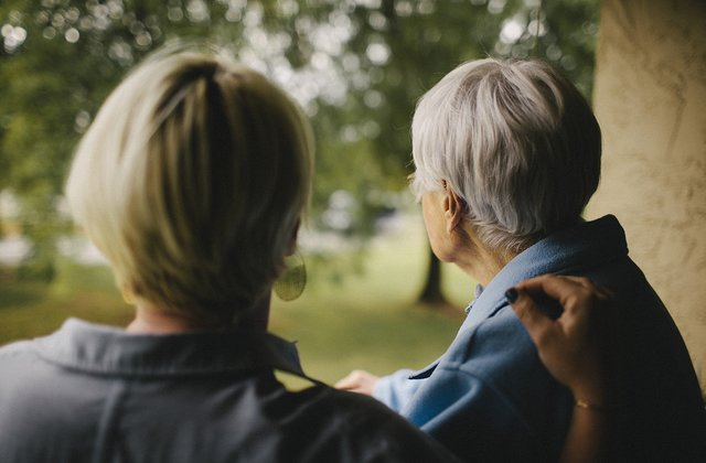 What elderly and sick people expect from us?